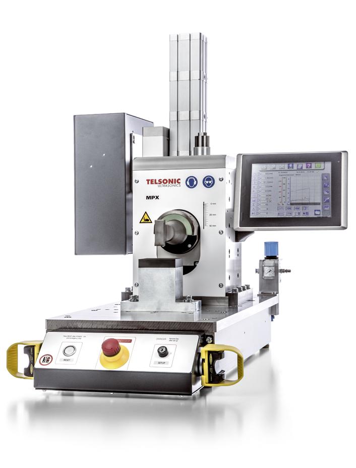 Ultraschallschweißen Vial Automation